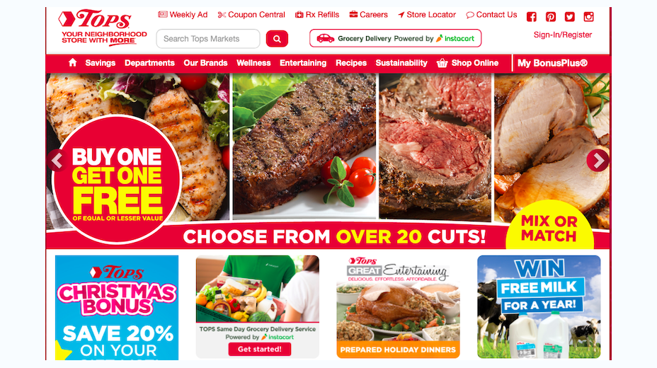 Tops Markets Coupons